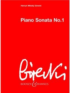 Henryk Mikolaj Gorecki: Piano Sonata No. 1 Books | Piano
