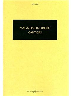 Magnus Lindberg: Cantigas (Score) Books | Score