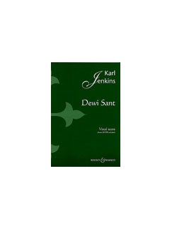 Karl Jenkins: Dewi Sant (Vocal Score) Books | SATB, Piano Accompaniment