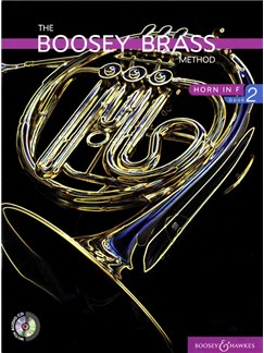 The Boosey Brass Method: Horn In F - Book 2 Books and CDs | French Horn