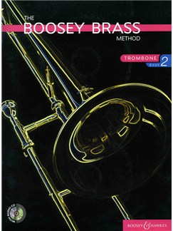 Boosey Brass Trombone - Book 2 (Book/CD) Books and CDs | Trombone