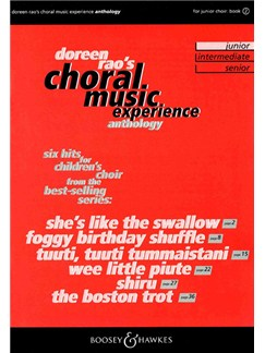 Choral Music Experience Anthology: Book 2 (Junior) Books | SSA