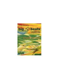 Chris Norton: Big Beats - Smooth Groove Piano/Keyboard Books | Keyboard, Piano
