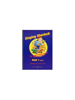 Singing Sherlock Book 1 And CD Books and CDs | Melody line, Lyrics and Chord Symbols