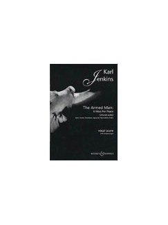 Karl Jenkins: The Armed Man A Mass For Peace (Choral Suite) Books | SATB, Piano or Organ Accompaniment