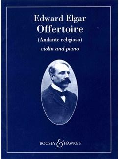 Edward Elgar: Offertoire (Andante Religioso) Books | Violin, Piano Accompaniment