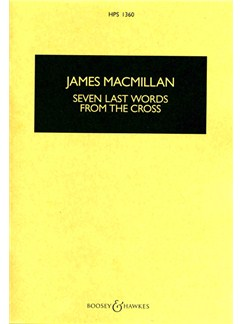James MacMillan: Seven Last Words From The Cross (Study Score) Books | SATB, String Orchestra