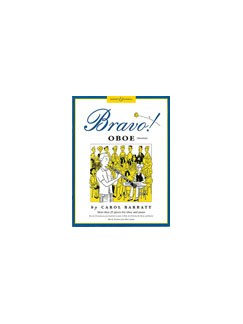 Carol Barratt: Bravo! Oboe Books | Oboe, Piano Accompaniment