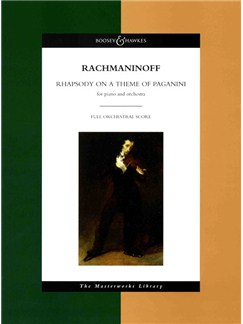 Serge Rachmaninoff: Rhapsody On A Theme Of Paganini Books | Piano, Orchestra