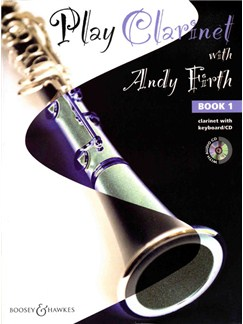 Play Clarinet with Andy Firth - Book 1 Books and CDs | Clarinet, Piano Accompaniment