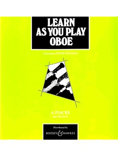 Learn As You Play Oboe (CD Only) CDs | Oboe