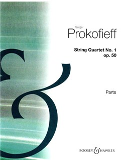 String Quartet 1 in B minor Op50 Books | String Quartet