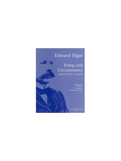 Edward Elgar: Pomp And Circumstance Marches 1-5 Op.39 (Organ) Books | Organ