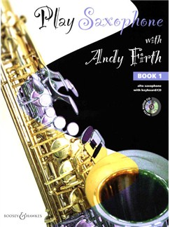 Play Saxophone With Andy Firth - Book 1 Books and CDs | Alto Saxophone, Piano Accompaniment