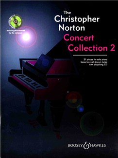 The Christopher Norton Concert Collection 2 Books and CDs | Piano