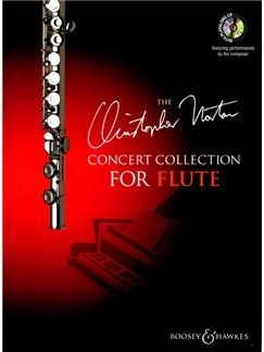 The Christopher Norton Concert Collection For Flute Books and CDs | Flute, Piano