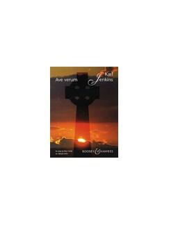 Karl Jenkins: Ave Verum (Voice/Piano) Books   Voice, Piano Accompaniment