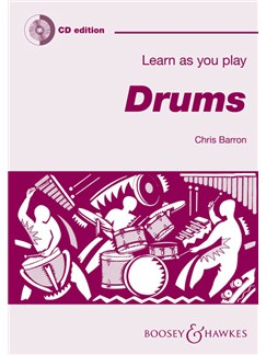 Chris Barron: Learn As You Play Drums (CD Edition) Books and CDs | Drums