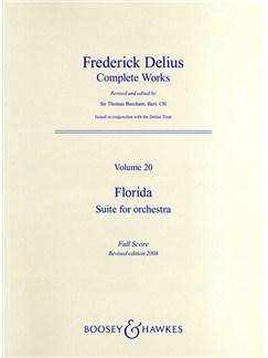 Frederick Delius: Florida Suite (Full Score) Books | Orchestra