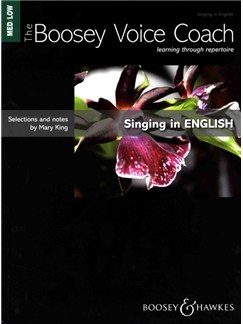 Mary King: Singing In English - Medium/Low Voice (The Boosey Voice Coach) Books | Medium, Low Voice