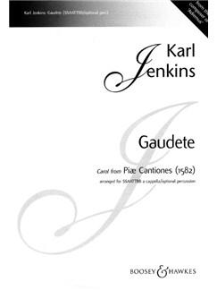 Gaudete (SSAATTBB) Books | SSAATTBB