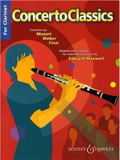 Concerto Classics For Clarinet Books | Clarinet, Piano Accompaniment