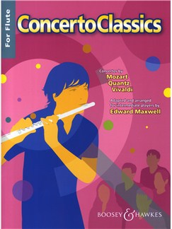 Concerto Classics For Flute Books | Flute, Piano Accompaniment