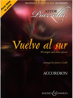 Astor Piazzolla: Vuelvo Al Sur 10 Tangos And Other Pieces - Accordion Books | Accordion
