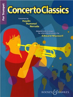 Concerto Classics For Trumpet Books | Flute, Piano Accompaniment