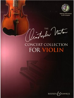 Christopher Norton: Concert Collection For Violin Books and CDs | Violin, Piano Accompaniment