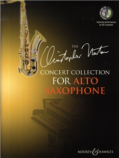 Christopher Norton: Concert Collection For Alto Saxophone Books and CDs | Alto Saxophone, Piano Accompaniment