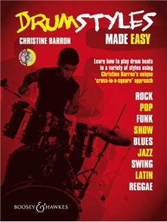 Christine Barron: Drum Styles Made Easy Books and CDs | Drums