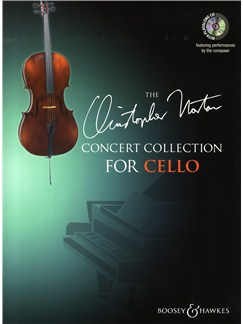 Christopher Norton: Concert Collection For Cello Books and CDs | Cello, Piano Accompaniment