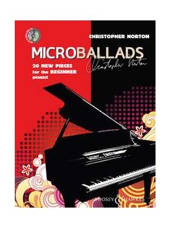 Christopher Norton: Microballads Books and CDs | Piano