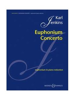 Karl Jenkins: Euphonium Concerto Books | Euphonium, Piano Accompaniment