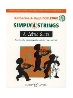 Hugh Colledge/Katherine Colledge: A Celtic Suite (With CD) Books and CDs | String Orchestra, String Ensemble