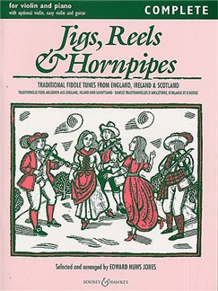 Edward Huws Jones: Jigs, Reels And Hornpipes (Violin/Piano) Books | Dulcimer, Violin, Guitar
