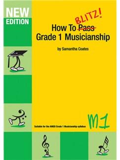 How to Blitz! Grade 1 Musicianship Books |