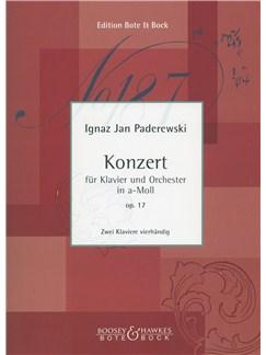 Ignaz Jan Paderewski: Konzert In A-Moll Op. 17 Books | Piano Duet