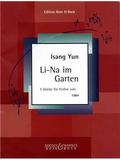 Isang Yun: Li-Na Im Garten Books | Violin