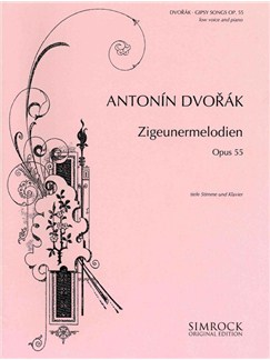 Antonin Dvorak: Zigeunermelodien Op.55 Books | Low Voice, Piano Accompaniment
