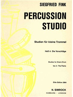 Studies for Snare Drum 4 Books | Percussion