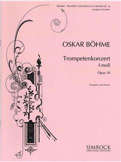 Trumpet Concerto in Fm Op18 Books | Trumpet, Piano Accompaniment
