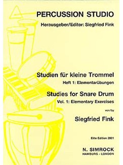 Studies for Snare Drum 1 Books | Percussion