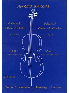 Violoncello Study School 1 Books | Cello