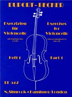 21 Exercises 1 Books | Cello
