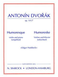 Humoresque in G Op101/7 Books | Violin, Piano Accompaniment