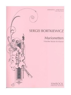 Sergei Bortkiewicz: Marionettes - Nine Easy Pieces Op. 54 Books | Piano