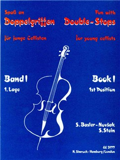 Fun with Double Stops - Book 1 Books | Cello