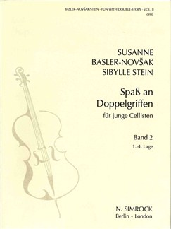 Fun with Double Stops - Book 2 (Cello) Books | Cello